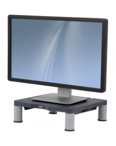 FELLOWES MONITOR RISER -STD,3 Adj,Up To 17in Mon. Graphite