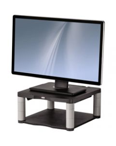FELLOWES MONITOR RISER PREMIUM,5 Adj,Up To 21in Mon. Graphite