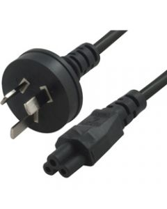 PC POWER CABLES,Clover Leaf 1m