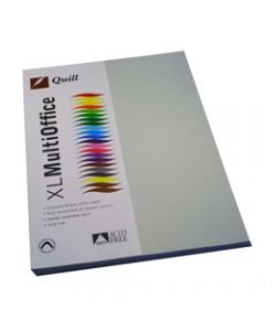 Quill XL Multioffice Paper,A4 80gsm Grey,Pack of 100