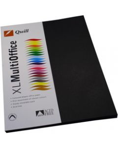 Quill XL Multioffice Paper,A4 80gsm Black,Pack of 100