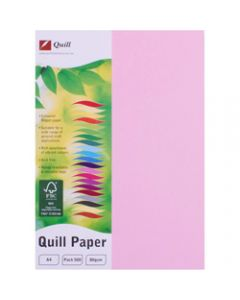 Quill Colour Copy Paper A4,80gsm Musk,Ream of 500