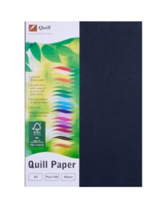 Quill Colour Copy Paper A4,80gsm Black,Ream of 500