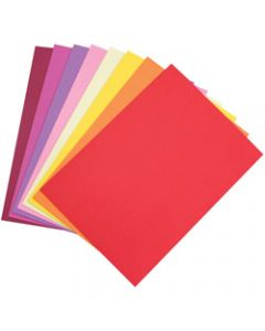 Colourful Days Colourboard,510x640mm 200gsm Warm Colours,Assorted Pack of 50