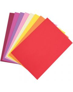 Colourful Days Colourboard,A4 200gsm Warm Tones Assorted,Pack of 50