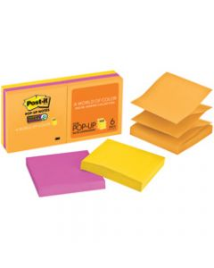 POST-IT R330-6SSUC NOTE POP-UP,Super Sticky 76x76mm Ultra,Pack of 6