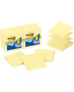 POST-IT R330-RP POP UP NOTES,Refills 100% Recycled 76x76mm,Pack of 12