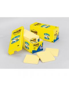 POST-IT R330-18CP NOTES ORIG,Cabinet Pack 90 Sheets 76x76mm,Pack of 18