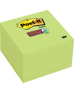 Post-It 654-5SSLE Super Sticky Notes 76x76mm Limeade (Lime) Pack of 5