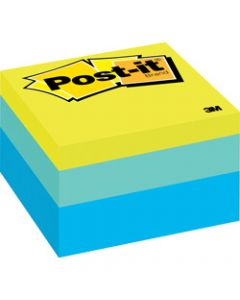 POST-IT 2056-RC NOTES,76x76mm Blue Wave 400 Sheets