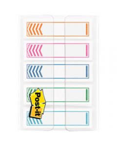 POST-IT FLAGS,684-SH-NOTE 11.9mm x 43.2mm,Assorted Pack of 100