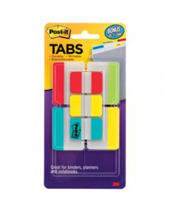 POST-IT DURABLE TABS,686-VAD2 25mm x 50mm,Assorted Value Pack of 114