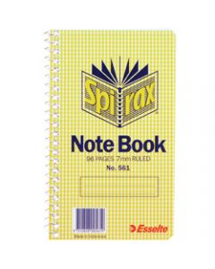 SPIRAX NOTEBOOK,561 147mm x 87mm 96 Page,Side Opening