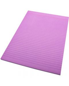 QUILL A4 70LF COLOUR BOND PADS,Lilac