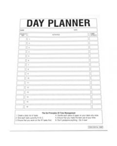 QUILL A4 PLANNER PADS,Day Planner 70GSM,50 Leafs