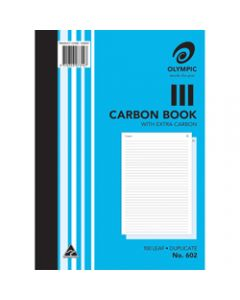 OLYMPIC CARBON BOOK,602 Duplicate A4,100 Leaf