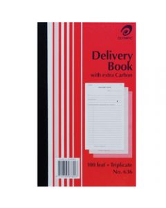OLYMPIC CARBON BOOK,636 Triplicate 200mm x 125mm,Delivery 100 Leaf