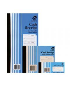 OLYMPIC CARBON BOOK,616 Duplicate 250mm x 135mm,300 Cash Receipts 75 Leaf
