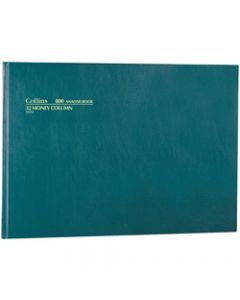 COLLINS ANALYSIS '800' SERIES,A3 32 Money Column Green