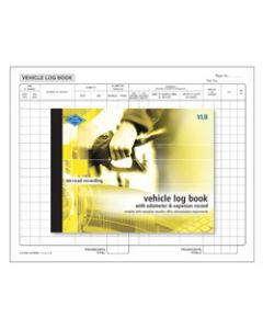 ZIONS VLB VEHICLE LOG BOOK,Vehicle Log & Expenses
