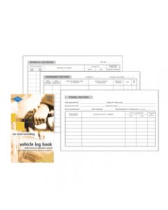 ZIONS VTED VEHICLE LOG BOOK,Vehicle & Travel Exp 180X110mm