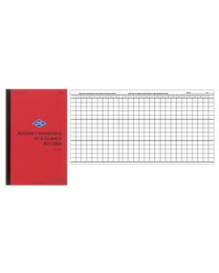 ZIONS ADV30 BOOKINGS BOOK,Advance At A Glance 30 Lines