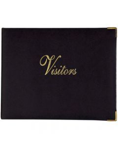 ZIONS 72 VISITORS BOOK,General Purpose Black 90X260mm