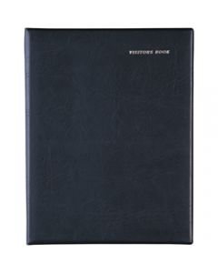 DEBDEN VISITORS BOOK A4 Short Wiro 64 leaf Black