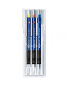 STAEDTLER MECHANICAL PENCIL,Mars Micro 0.3mm 0.5mm 0.7mm,Wallet of 3