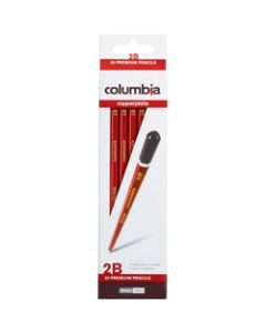 COLUMBIA COPPERPLATE PENCIL,Hexagon 2B Pack of 20
