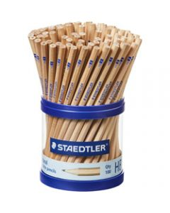 STAEDTLER NATURAL PENCIL,130 HB,Cup of 100
