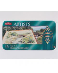 DERWENT ARTIST PENCILS,Assorted Pack of 36