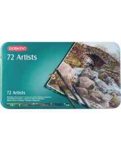 DERWENT ARTIST PENCILS,Assorted Pack of 72