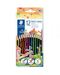 STAEDTLER NORIS CLUB,Assorted Coloured Pencils,Pack of 12