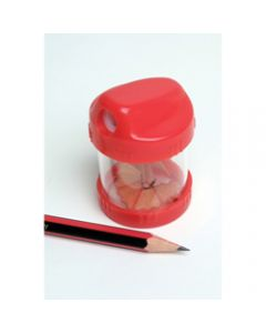 MARBIG BARREL PENCIL SHARPENER,1 HolePlastic