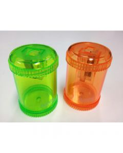 BANTEX CANISTER SHARPENER,Single Hole Orange & Green