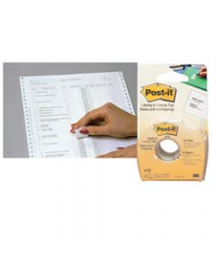POST-IT CORRECTION TAPE,658 25mm x 17m