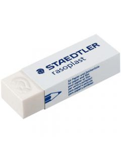STAEDTLER RASOPLAST ERASERS,Lrg 65x23x13mm For Pencil