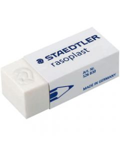 STAEDTLER RASOPLAST ERASERS,Med 43x19x13mm For Pencil