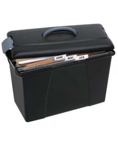 CRYSTALFILE CARRY CASE,Black