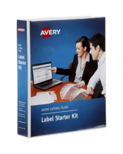 AVERY LATERAL CODE LABEL KIT,2Sht Alpha,Numeric Labels
