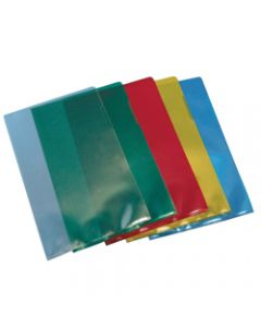 MARBIG LETTER FILE,A4 Poly Clear,Pack of 100