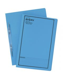 AVERY SPIRAL SPRING FILES,Blue Printed Black