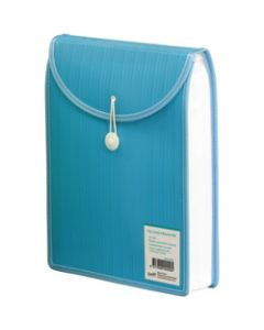 BANTEX TOP LOAD ATTACHE FILE,A4,Aqua