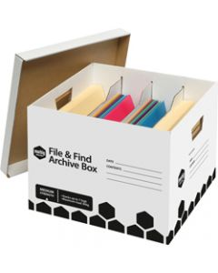 MARBIG ARCHIVE BOX,File and Find,L420mm x H320mm x W390mm