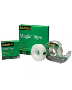 SCOTCH 810 MAGIC TAPE,19mmx66m,Roll