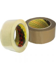 SCOTCH PACKAGING TAPE,370 Film,36mm x 75m Brown