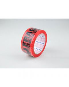 NACHI SP101 FRAGILE TAPE,Blk/Orange 48mmx66m,Roll