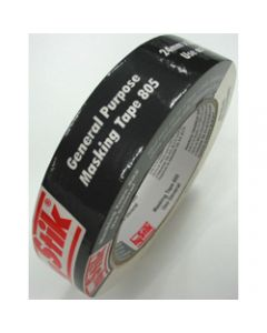 HYSTIK 805 MASKING TAPE,Cream 24mmx55m,Roll