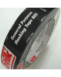 HYSTIK 805 MASKING TAPE,Cream 36mmx55m,Roll